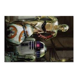 "Холст 20х30 ""Star Wars"" - кино, фантастика, star wars, звездные войны, дарт вейдер"