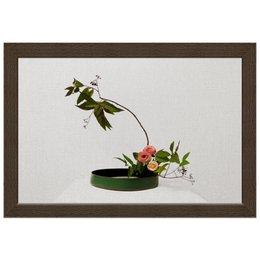 "Холст 20х30 ""Икебана / Ikebana"" - цветы, япония, натюрморт, икебана, ikebana"