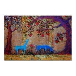 """Холст 20х30 """"Сказочный сад."""" - праздник, любовь, свадьба, сад, день рождения"""
