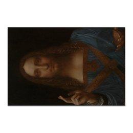 "Холст 20х30 ""Спаситель мира Леонардо да Винчи"" - арт, картина, живопись, леонардо да винчи, спаситель мира"