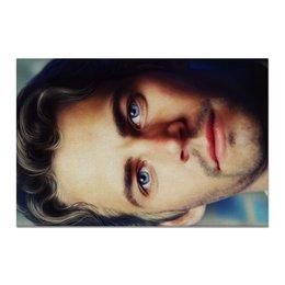 """Холст 20х30 """"Пол Уокер Paul Walker"""" - форсаж, актер, пол уокер, paul walker, брайн оконнер"""