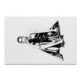 "Холст 20х30 ""Образ Леди"" - fashion illustration, fashion art, модная иллюстрация, fashion sketch, черно-белая графика"