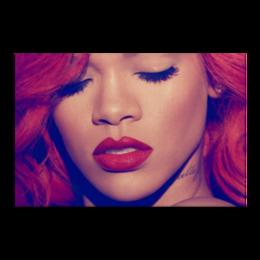 """Холст 20х30 """"Rihanna"""" - rihanna, anti, badgalriri"""