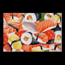 "Холст 20х30 ""Суши Роллы"" - еда, аниме, роллы, суши, япония"