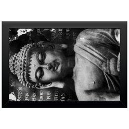 """Холст 20х30 """"Будда (Письмена)"""" - философия, религия, буквы, будда, буддизм"""