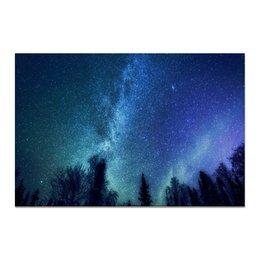 "Холст 20х30 ""Звездное небо"" - звезды, небо, природа"