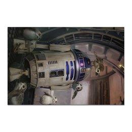 """Холст 20х30 """"Звездные войны - R2-D2"""" - звездные войны, фантастика, кино, дарт вейдер, star wars"""