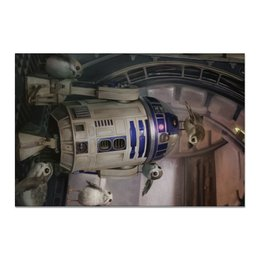 "Холст 20х30 ""Звездные войны - R2-D2"" - кино, фантастика, star wars, звездные войны, дарт вейдер"