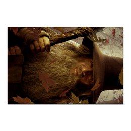 "Холст 20х30 ""Гэндальф"" - кино, властелин колец, хоббит, hobbit, фродо"