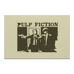 "Холст 20х30 ""Pulp Fiction"" - кино, фильм, тарантино, криминальное чтиво, pulp fiction"