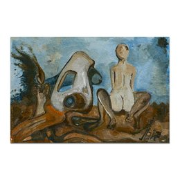 """Холст 20х30 """"Любовное настроение"""" - любовь, арт, картина, живопись, современное искусство"""