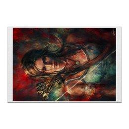 "Холст 20х30 ""Tomb Raider"" - арт, art, game, film, gamer, fanart, tomb, raider, tombraider"
