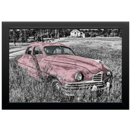 "Холст 20х30 ""Раритет 1"" - машина, автомобиль, пейзаж, car, раритет"