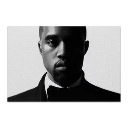 """Холст 20х30 """"Kanye West"""" - kanye, west, kanyewest"""