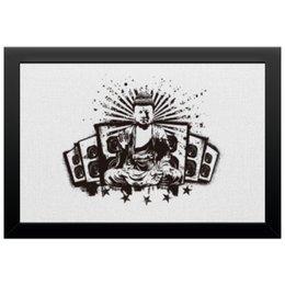 """Холст 20х30 """"Будда (Акустика)"""" - музыка, волны, будда, буддизм, акустика"""