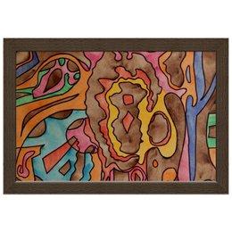"Холст 20х30 ""R1AZQ00"" - арт, узор, абстракция, фигуры, текстура"