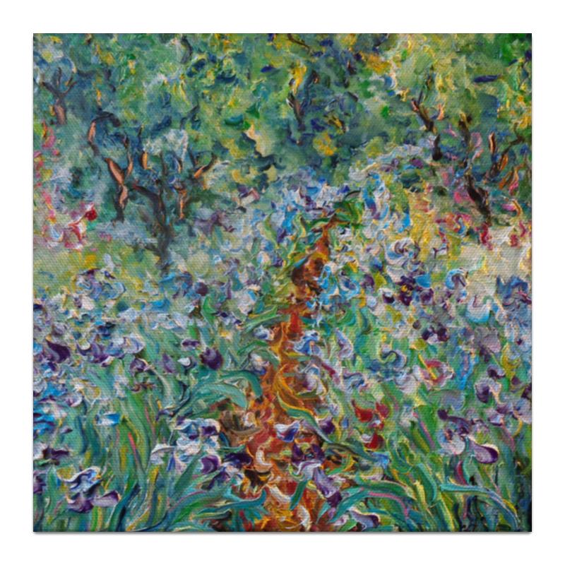 Холст 30x30 Printio Соловьиный сад дача и сад