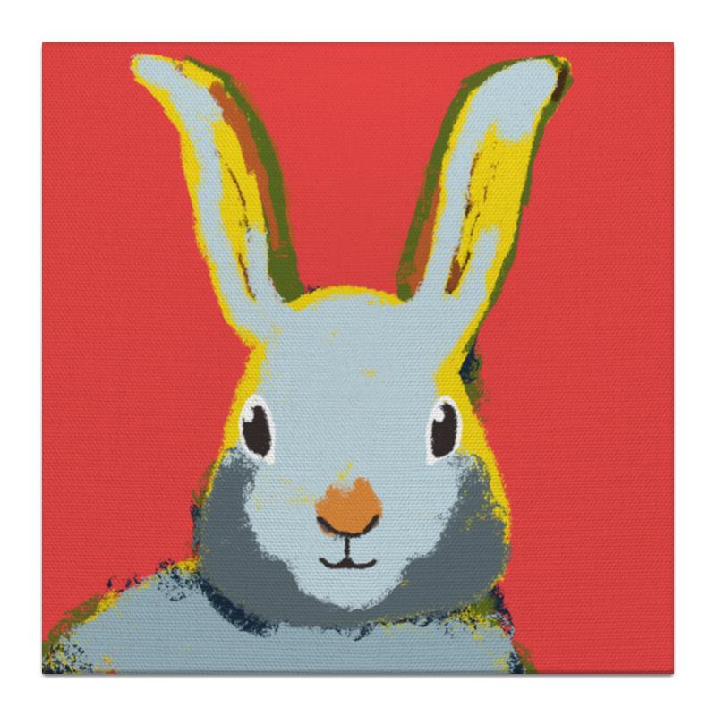 Холст 30x30 Printio Милый кролик! wellber стельное белье для детской кровати 145x100cm