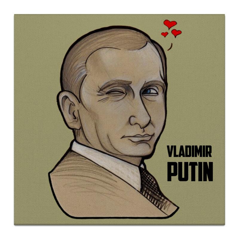 Холст 30x30 Printio Putin холст 30x30 printio механическое сердце