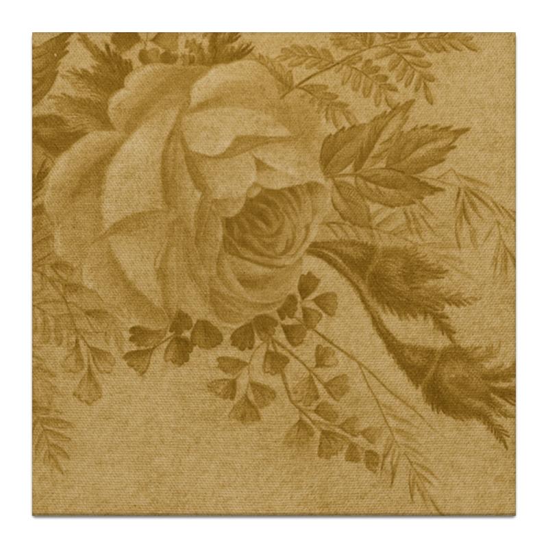 Холст 30x30 Printio Sepia rose цены онлайн