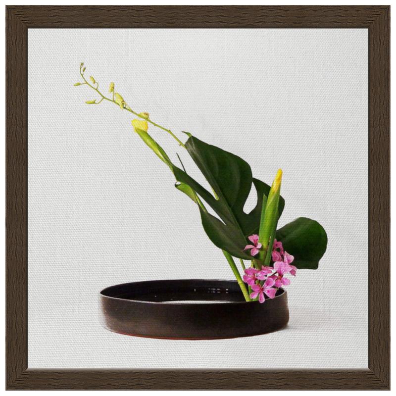 Холст 30x30 Printio Икебана / ikebana цена 2017