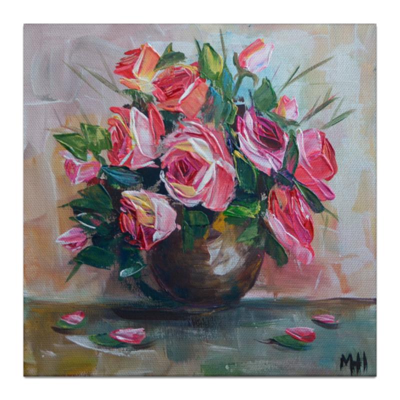 Холст 30x30 Printio Букет роз