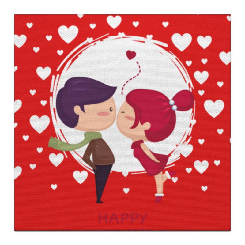 Холст 30x30 Printio День влюблённых холст 30x30 printio механическое сердце