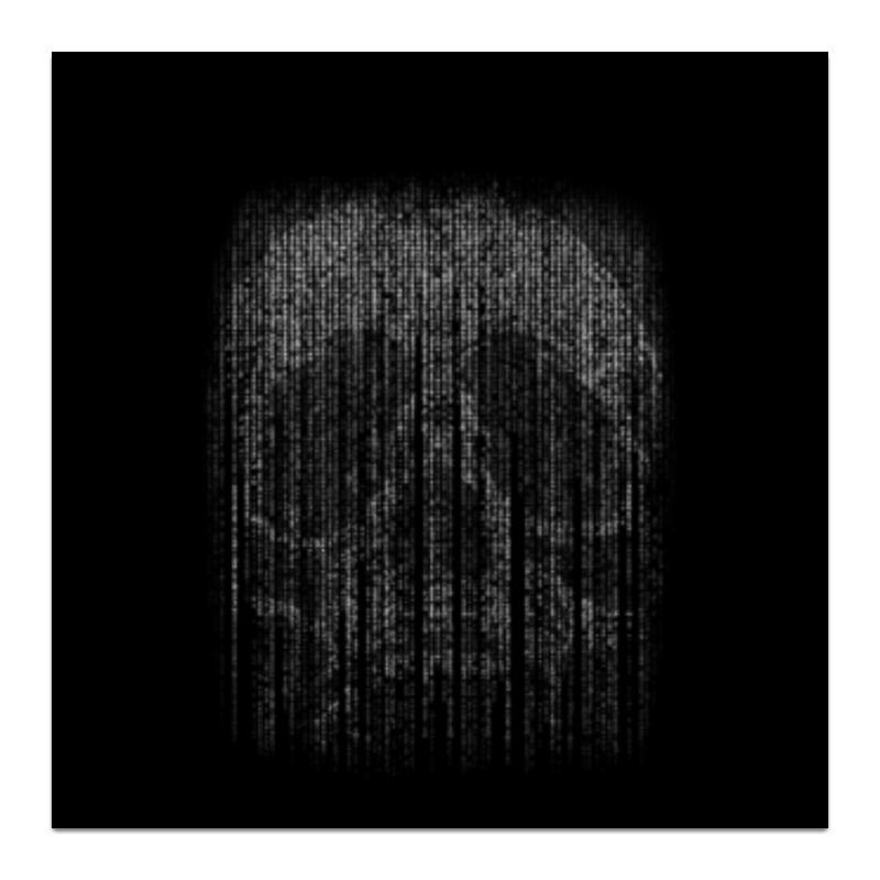 Холст 30x30 Printio Голограмма череп холст 30x30 printio череп в капюшоне