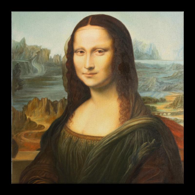 Холст 30x30 Printio Мона лиза мона лиза евро наволочка 50х70 malta