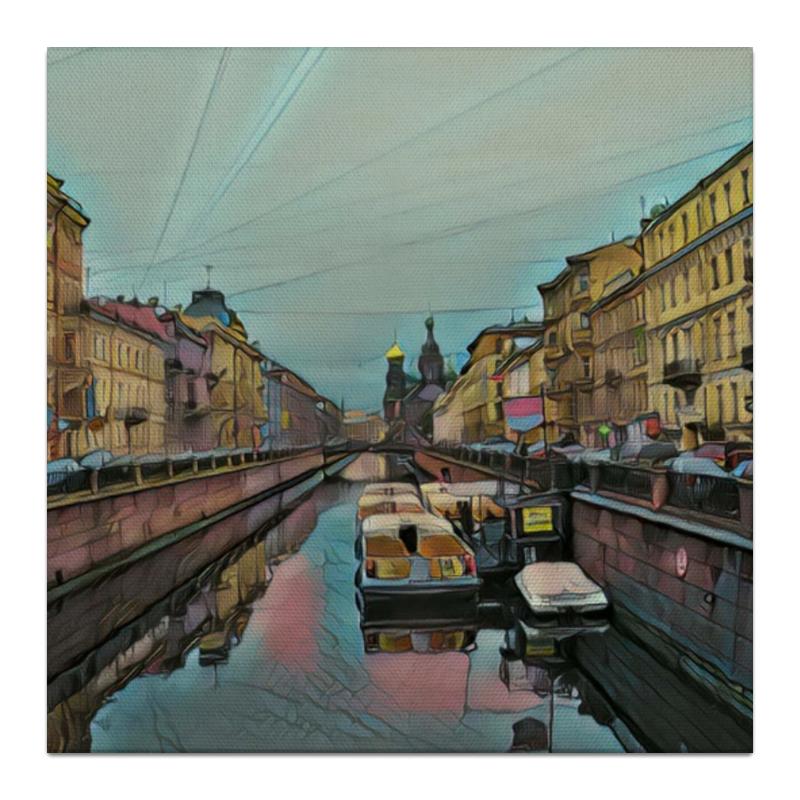 Холст 30x30 Printio Петербург