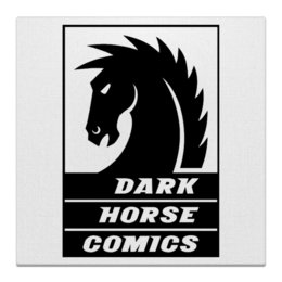"Холст 30x30 ""Dark Horse Comics"" - комиксы, dark horse comics, тёмная лошадка"