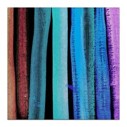 """Холст 30x30 """"Графика в полоску"""" - необычная картина, купить картину на холсте, картина в интерьер, необычный подарок, графика"""