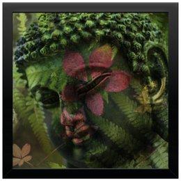 "Холст 30x30 ""Будда "" - природа, buddha, будда, буддизм, духовность"