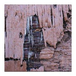 """Холст 30x30 """"""""Деревянная"""""""" - крутой, оригинальный, стильный, деревянный, фактурный"""