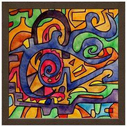 """Холст 30x30 """"2`XJ,UUU7"""" - арт, узор, абстракция, фигуры, текстура"""