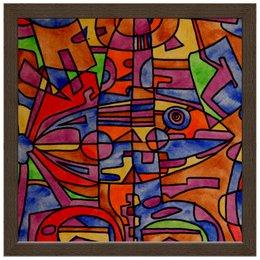 """Холст 30x30 """"nj2]0-=-.'11"""" - арт, узор, абстракция, фигуры, текстура"""