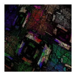 "Холст 30x30 ""Абстрактный дизайн"" - графика, абстракция, авангард, фигуры"