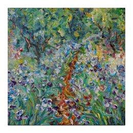 """Холст 30x30 """"Соловьиный сад"""" - лето, утро, в подарок, красота, сад, garden"""