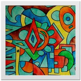 "Холст 30x30 ""z//;vcw`0m0"" - арт, узор, абстракция, фигуры, текстура"