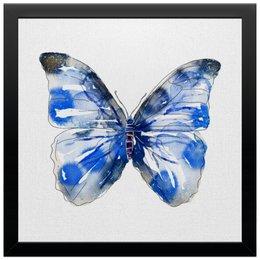 """Холст 30x30 """"Бабочка"""" - бабочка, дизайн, иллюстрация, животное"""