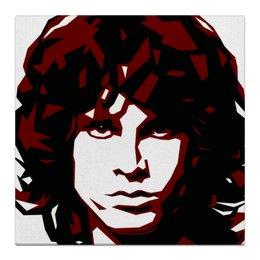 "Холст 30x30 ""Джим Моррисон"" - рок, doors, моррисон, morrison"