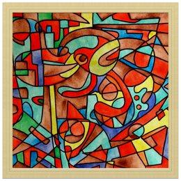 "Холст 30x30 ""VM-MV[=]"" - арт, узор, абстракция, фигуры, текстура"