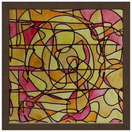 "Холст 30x30 ""bdbd--;12"" - арт, узор, абстракция, фигуры, текстура"