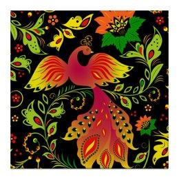 """Холст 30x30 """"Жар - птица"""" - красиво, цветы, ярко, природа, жар - птица"""