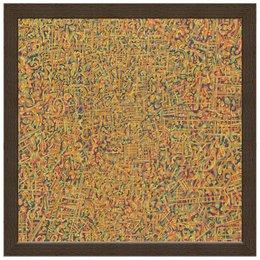 """Холст 30x30 """"Сандал"""" - арт, узор, абстракция, фигуры, текстура"""