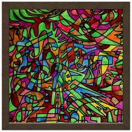 """Холст 30x30 """"s`s`s-0.w"""" - арт, узор, абстракция, фигуры, текстура"""