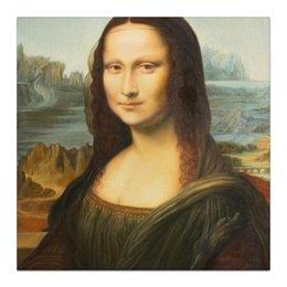 """Холст 30x30 """"Мона Лиза"""" - классика, да винчи, мона лиза, джоконда, mona lisa, leonardo da vinci"""