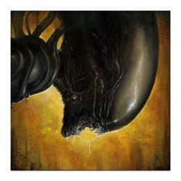 """Холст 30x30 """"Чужой"""" - alien, кино, фильм, чужой, ужасы, научная фантастика"""