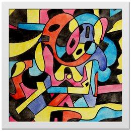 "Холст 30x30 ""ttt`12ll"" - арт, узор, абстракция, фигуры, текстура"