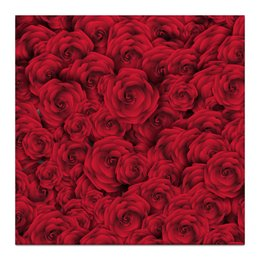 """Холст 30x30 """"Розочки"""" - цветы, день святого валентина, подарок, розы, день влюблённых"""